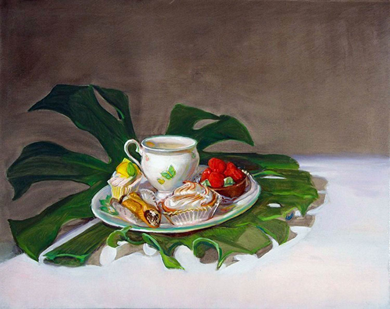Confections 24 x 30 in oil canvas 2008