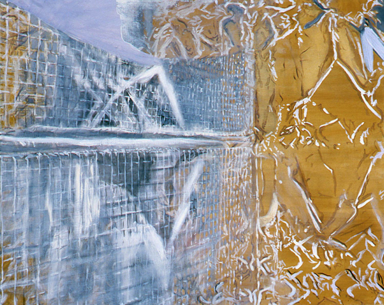 Birdcage 40 x 50 in oil canvas 1990