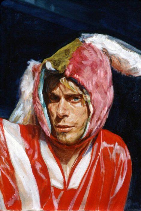 01 Rabbit Ears 26 x 20 in oil canvas 2000