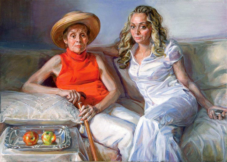 Grace age 36 x 48 oil canvas 2007