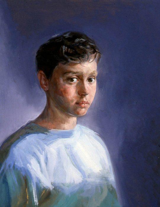 Elias 13 24 x 20 oil canvas 2003