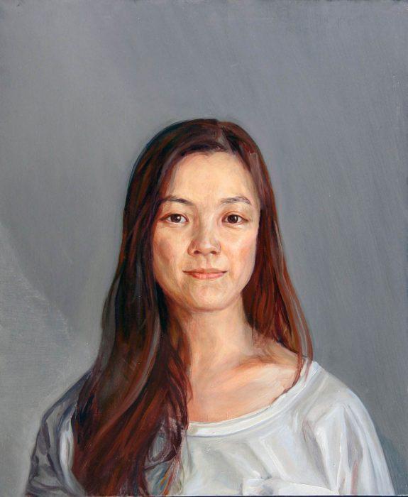 Fern 24 x 20 in oil canvas 2015