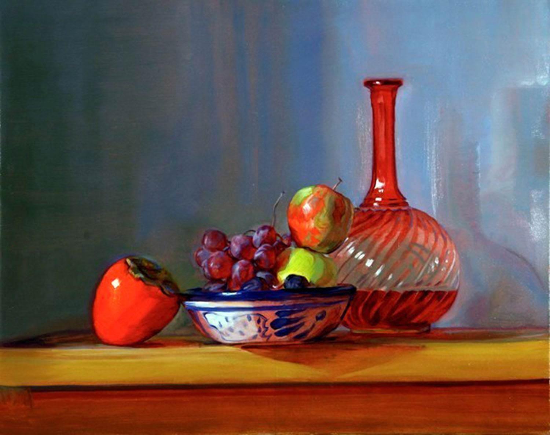 Persimmon 24 x 30 oil canvas 2008