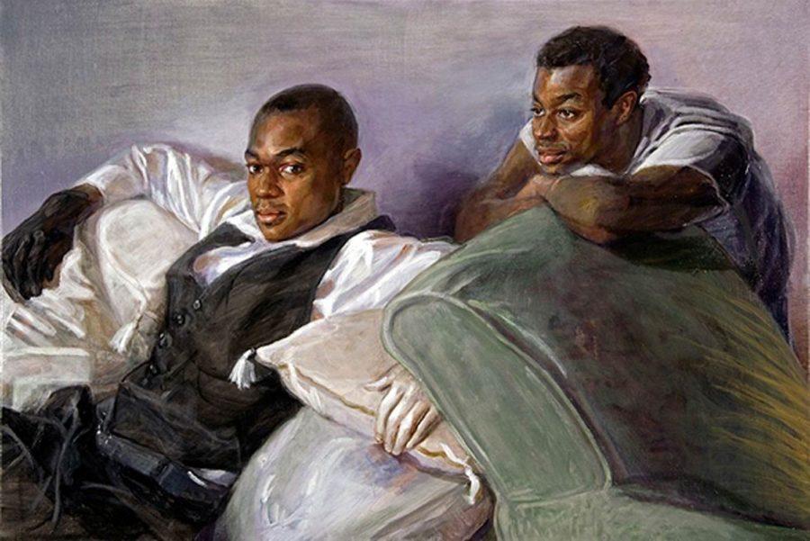 Theory Mwanzaa 36 x 48 in oil canvas 2007