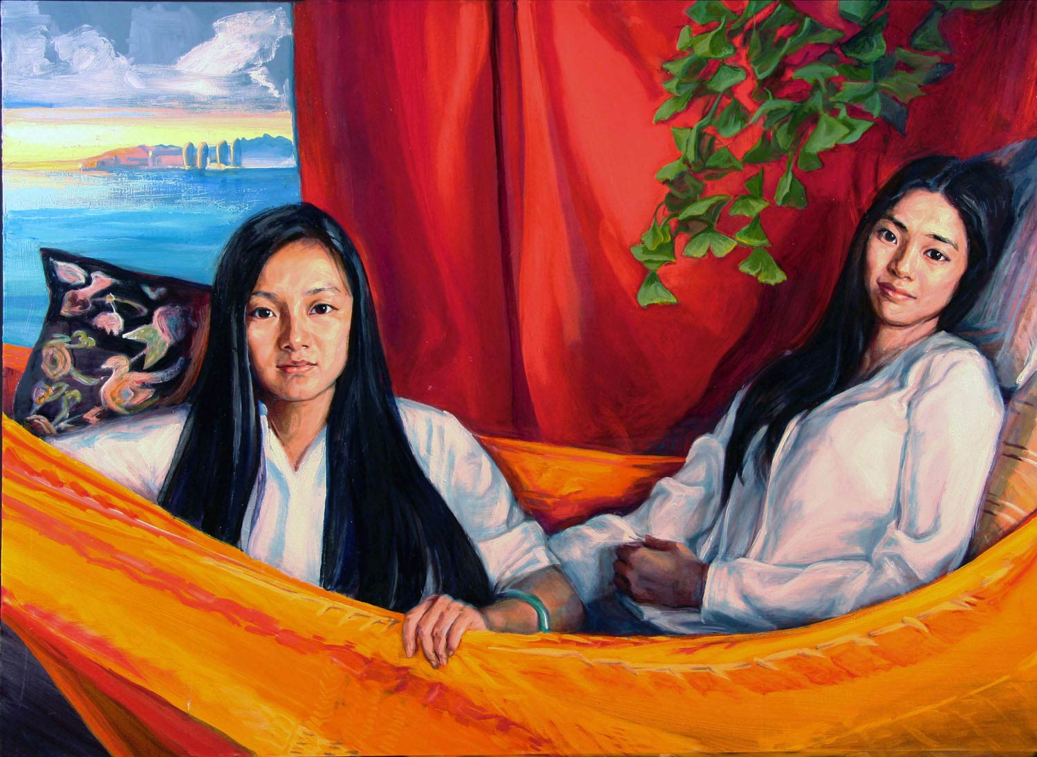 CYZhuo Chao 36 x 48 in oil canvas 2015