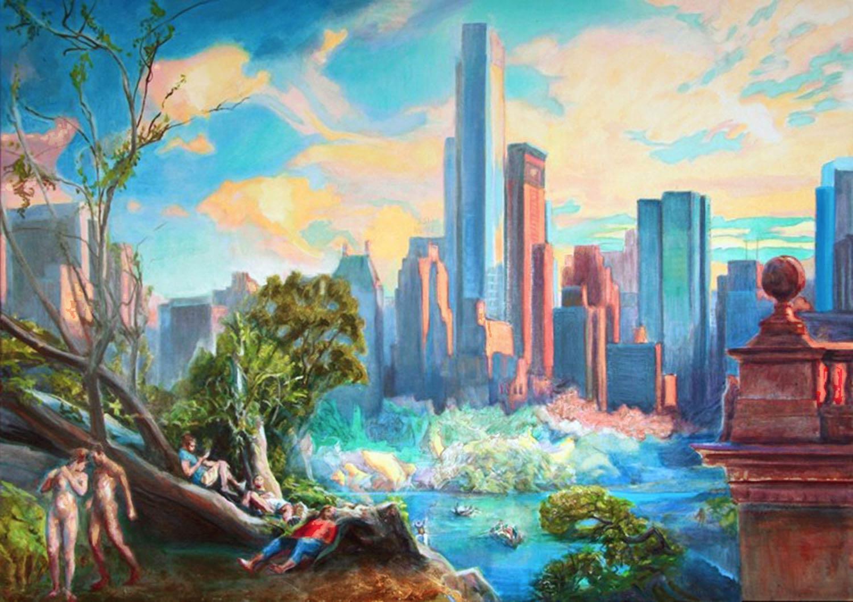 Fallen Tree 18 x 24 in. oil on canvas 2014