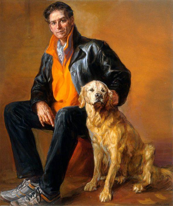 Bob Tyler 44 x 34 oil canvas 2004