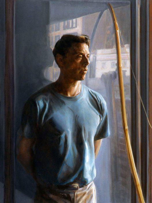 Jim 48 x 36 oil canvas