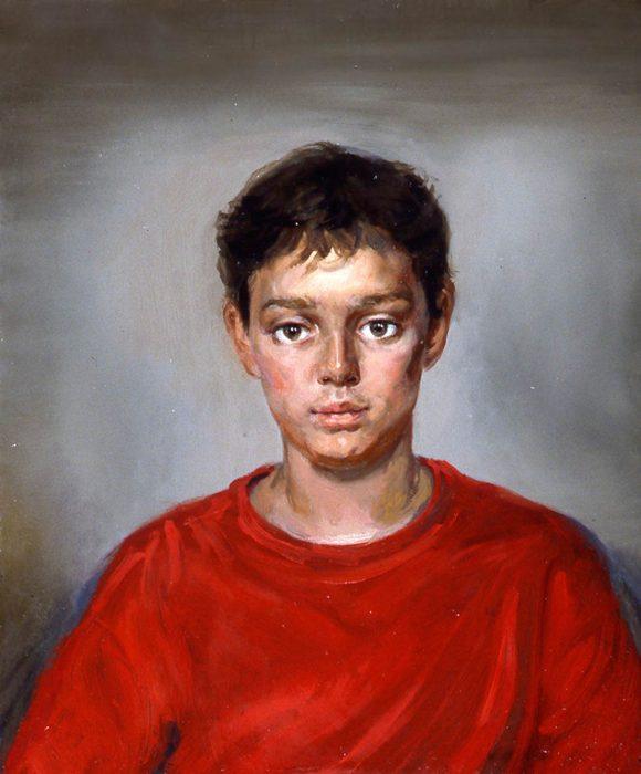 Elias 13 24 x 28 in oil canvas 2003