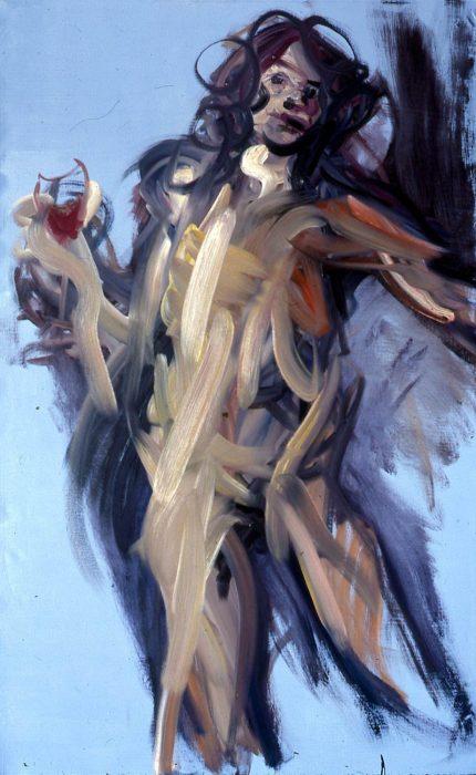 Bacchus 72 x 36 in. oil canvas 1985